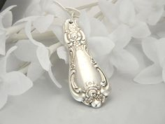 Silver Spoon Jewelry Spoon NECKLACE Spoon by SilverSpoonCreations, $16.75