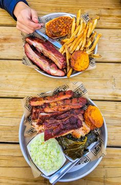 When you visit Raleigh North Carolina, here are the 4 best bbq spots in Raleigh NC. #bbq #Raleigh #NorthCarolina