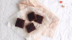 Suklaiset leivonnaiset syntyvät myös ilman mitään keinotekoisia raaka-aineita. // Healthy white bean chocolate brownies. Sugarfree, vegan, dairyfree and glutenfree.