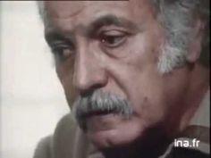 Brassens parle de Brel, le plus bel hommage. - YouTube