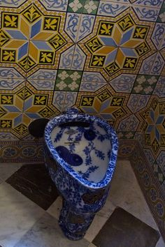 Toilet. Palau Güell. Antoni Gaudi. Barcelona, Spain. 1886-8