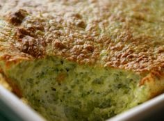 Broccoli Souffle. This is the simplest. Use organic frozen broccoli and any kind of cheese. It was delicious!