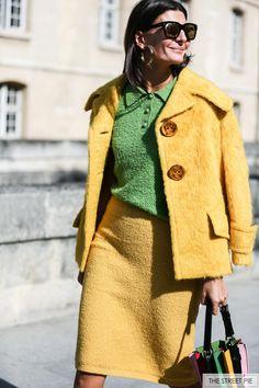 Outside Nina Ricci / Paris Fashion Week SS18