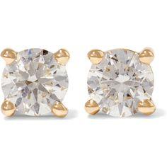 Anita Ko 18-karat gold diamond earrings (80,310 PHP) ❤ liked on Polyvore featuring jewelry, earrings, gold, diamond stud earrings, anita ko jewelry, stud earrings, sparkle jewelry and diamond jewellery