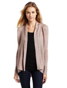 Ella moss Women's Ava Wrap Sweater, Pink, Large Ella Moss. $75.29. 70% Acrylic/15% Wool/15% Mohair. Made in China. Dry Clean Only. Cable knit detail. Long sleeve