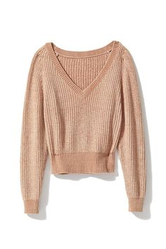d702192e02cb9f Slide View  5  UO Cozy Chenille V-Neck Sweater Urban Outfitters