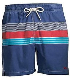 cb629b076c Barbour Men's Swim Shop Tailored-Fit Mid-Rise Rydal Swim Shorts