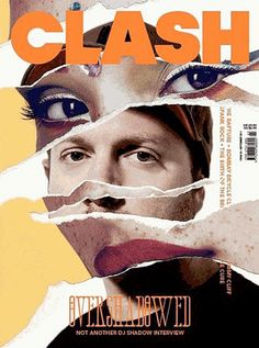 I think this is a very interesting magazine cover combining the faces of two people together and we could use this for the cover maybe like something like it but using faces from out svhool, and the background could be something cool, maybe a sea of students or just maybe a bunch of geometric shapes or something along those lines. This has potential