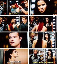 Hunger Games / Catching Fire / Katniss / Johanna / Peeta / Haymitch