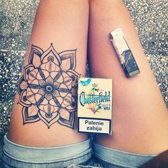 tattoo dotwork mandala