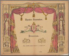 Theater-Decoration, Prosceniumhttp://www.geheugenvannederland.nl