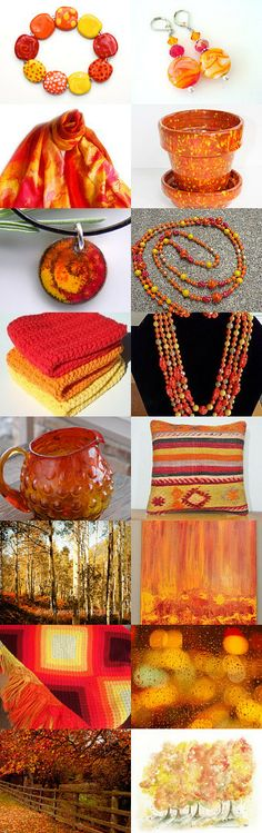 The color of autumn by Margarita Gavrichkova on Etsy--Pinned with TreasuryPin.com
