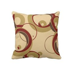 Shop Modern Bubbles Throw Pillow - Beige created by StriveDesigns. Throw Pillow Covers, Throw Pillows, Urban Cottage, Modern Bedroom Decor, Shades Of Beige, Colorful Pillows, Decorative Pillow Cases, Custom Pillows, Accent Pillows