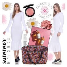 """""""ModestGal Threads"""" by gaby-mil ❤ liked on Polyvore featuring Summer, dress and modestgalthreads"""