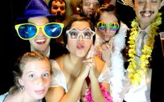 Wedding Reception in Raleigh, NC. The photo booth was a hit!  www.raleighphotoboothfun.com
