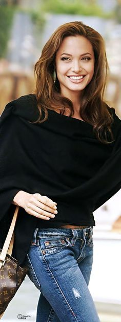 Angelina Jolie for her classic style, headstrong personality and passion for philanthropy and service