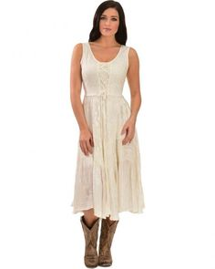 Scully Women's Lace-Up Jacquard Dress-would love this for going to weddings