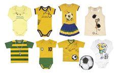 Roupas Infantis para Copa do Mundo