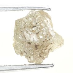 1.10 Ct Natural Loose Diamond Raw Rough Natural Shape Silver  Color
