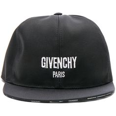 Givenchy Cap ($445) ❤ liked on Polyvore featuring men's fashion, men's accessories, men's hats, hats, mens snapback hats, mens caps and hats and men's brimmed hats