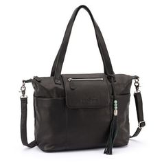 an AMAZING, beautiful diaper bag. <3 the madeline from lily jade is made of premium, full-grain leather and features over 16 pockets (!!). also--it can convert into a backpack!