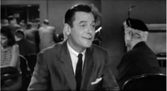 """BEST SUPPORTING ACTOR NOMINEE: Gig Young for """"Teacher's Pet""""."""