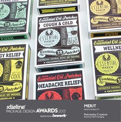 The Dieline Package Design Awards 2013Winners - The Dieline -  This is the look that I am planning to go for in my product redesign.