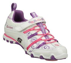 Buy SKECHERS Girls' Bella Ballerina: Prima - Princess Bungee Sneakers only $52.00 - But I got them on sale at the Bay for $21.00! Awesome!!!!
