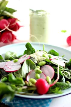 This salad contains several super foods.- Spinach, which is one of the healthiest of all the leafy and green vegetables loaded with folate, carotenoids and antioxidant properties.- Radishes c...