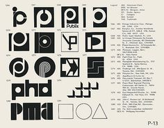 Logos / Marks via www.ffffound.com