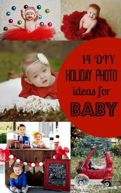 Unique holiday photo ideas for baby's first holiday and beyond via babble.com