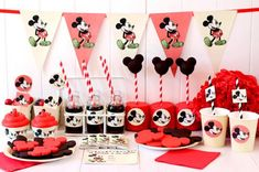 Vintage Mickey Mouse Party ideas