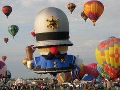 Albuquerque Balloon Fiesta-Oct 6 2011 - one of the special shapes, Photo: Koala Sez