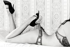 Zalotnie i vintage, podoba nam się! Séance boudoir avec Solène- good picture for the groom