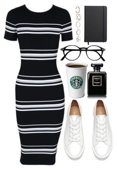 """""""Untitled #421"""" by heygailee on Polyvore featuring MINKPINK, Chanel, Shinola and GUESS"""