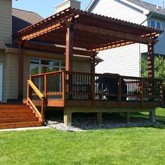 This Image Features A Pergola Made From The Post Base Kit, Rafter Clips, And