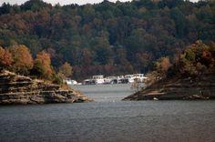 Emerald Isle on Green River Lake in Kentucky.