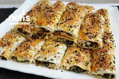 Ispanaklı Peynirli Sarma Börek