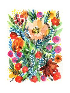 Summer Bloom - Minted - $29.00 - domino.com