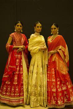 Anite Dongre 2016 #MakeInIndia #WeavesOfBanaras #TheFDCI @thefdci
