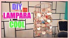 ♥ DIY DECORAR TU CUARTO,  LAMPARA SUPER COOL.Belita ♥