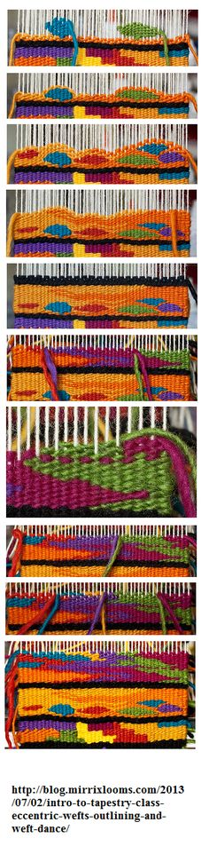 tapestry weaving sample