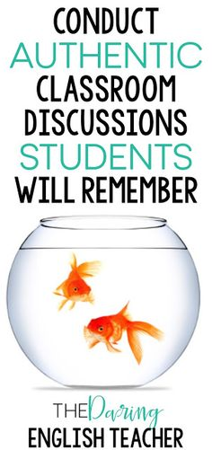 Conduct authentic and meaningful classroom discussions in your high school or middle school English classroom. Conduct authentic and meaningful classroom discussions in your high school or middle school English classroom. Middle School Classroom, English Classroom, Classroom Rules, Classroom Ideas, Classroom Resources, Classroom Routines, Esl Resources, Classroom Supplies, Daily 5