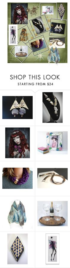 """""""Happy Holidays!"""" by anna-recycle ❤ liked on Polyvore featuring Inox, modern, rustic and vintage"""