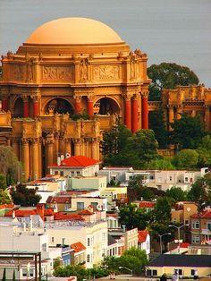 Palace of the Fine Arts - San Francisco