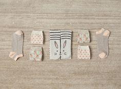 Cute Home Socks by Oysho <3 love the bunnies!