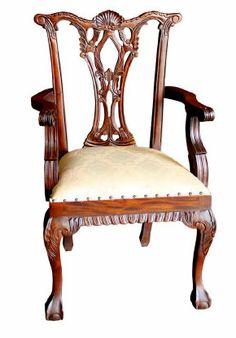 sillón estilo Chippendale