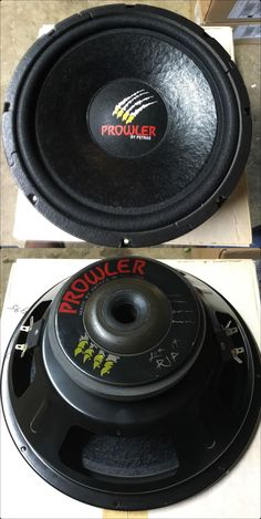 PROWLER PR124D - DVC Subwoofer. Made in Texas USA
