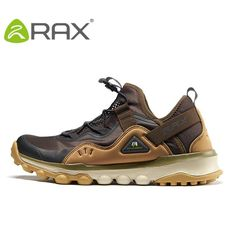 promo code 6f78b d4f79 RAX Men Waterproof Hiking Shoes Light-Weight Outdoor Sports Brand Shoes Men  Breathable Fashion Sneakers