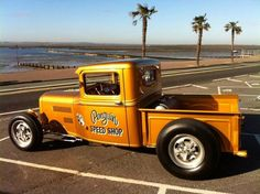 Afternoon Drive: Hot Rods & Rat Rods Photos) - A hot rod is a specific type of automobile that has been modified to produce more power for racing straight ahead. The hot rod originated in the early. Hot Rod Trucks, Cool Trucks, Pickup Trucks, Cool Cars, Truck Drivers, Rat Rods, Custom Trucks, Custom Cars, Custom Wheels